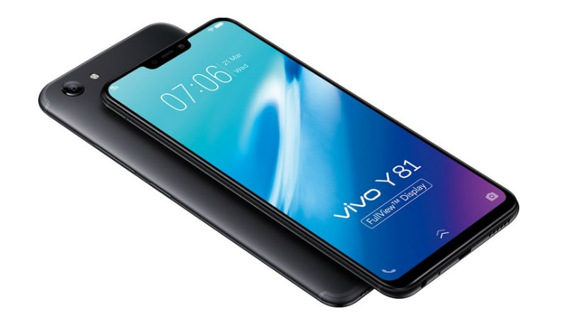 Vivo Y81 With iPhone X-Like Notch Goes Official: Price, Specifications