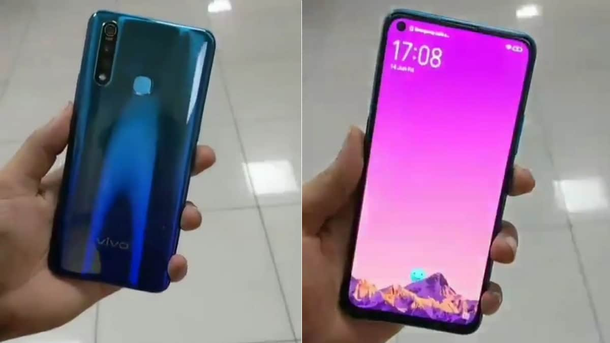 Vivo Z1 Pro Leaked Hands-On Images Show Triple Rear Cameras, Hole-Punch Display, Gradient Design