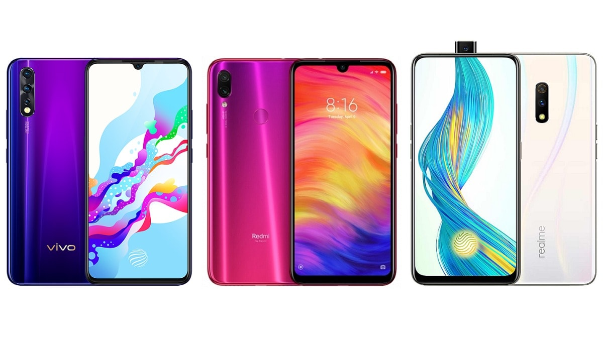 Vivo Z1x vs Redmi Note 7 Pro vs Realme X: Price in India