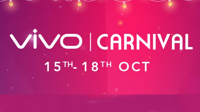 vivo carnival sale kicks off with deals on vivo v9 pro v11 pro and