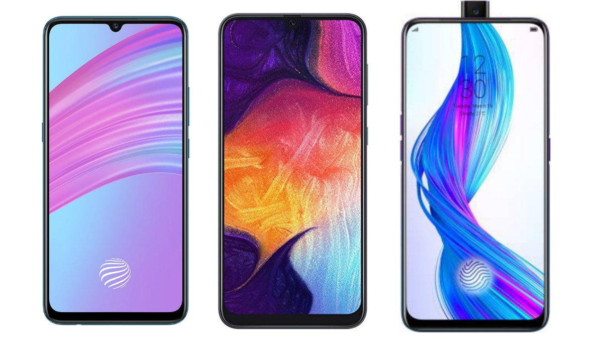 Vivo S1 vs Realme X vs Samsung Galaxy A50: Price in India
