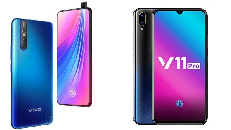 3202084f59d Vivo V15 Pro vs Vivo V11 Pro  Price