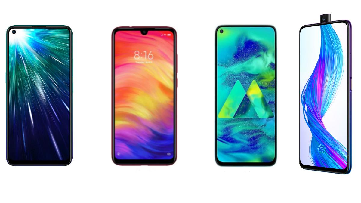 Vivo Z1 Pro vs Redmi Note 7 Pro vs Realme X vs Samsung