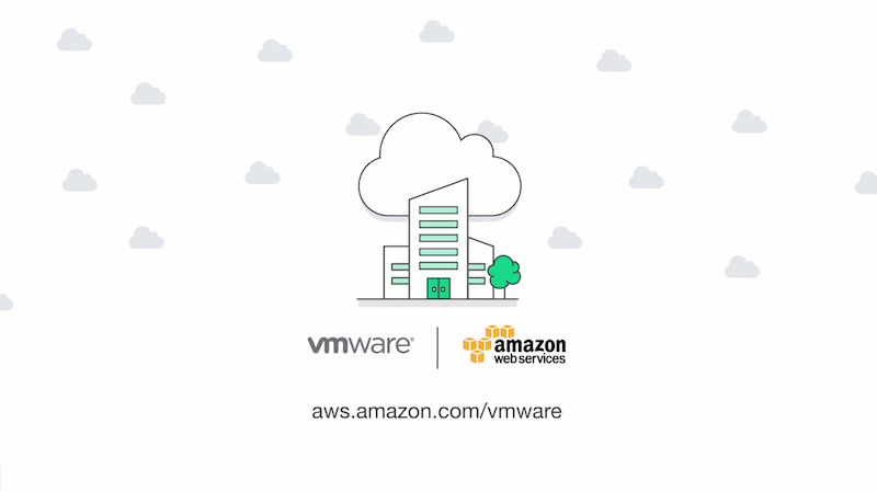 VMware Cloud Now Available on Amazon Web Services