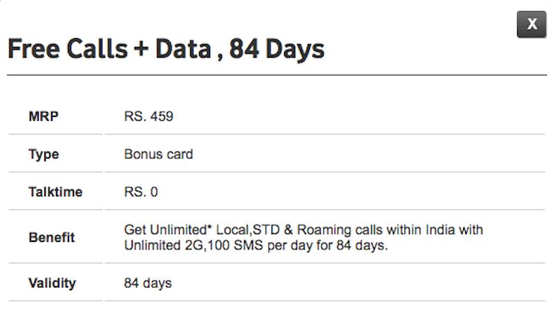vodafone 459 plan Vodafone 459 Plan