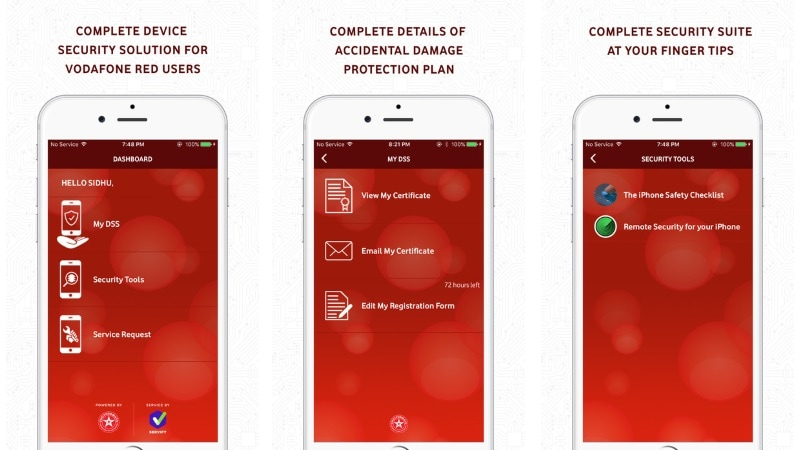 Vodafone RED Shield Offers Damage, Theft Cover on