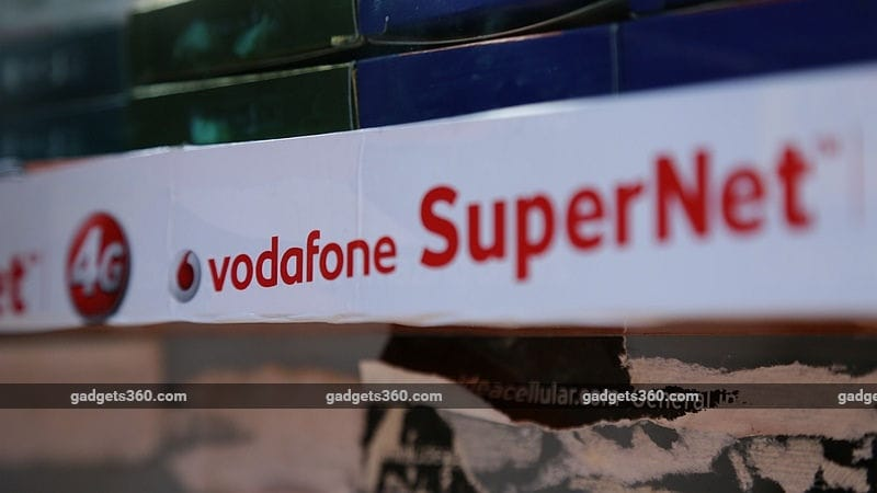 Vodafone Rs. 511, Rs. 569 Packs Offer Up to 3GB Daily Data for 84 Days