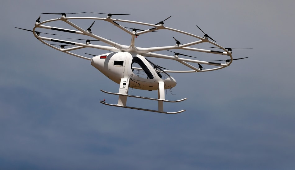 Volocopter Performs First Air Taxi Flight, Aims to Be Operation for Paris 2024 Olympics