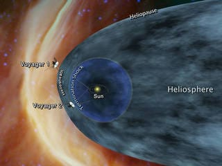 NASA's 41-Year-Old Voyager 2 Probe May Be Nearing Interstellar Space
