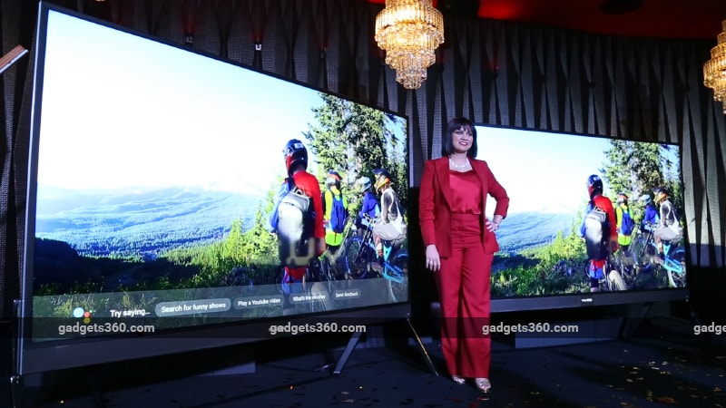 Vu 100 Launched In India A 100 Inch 4k Tv Priced At Rs