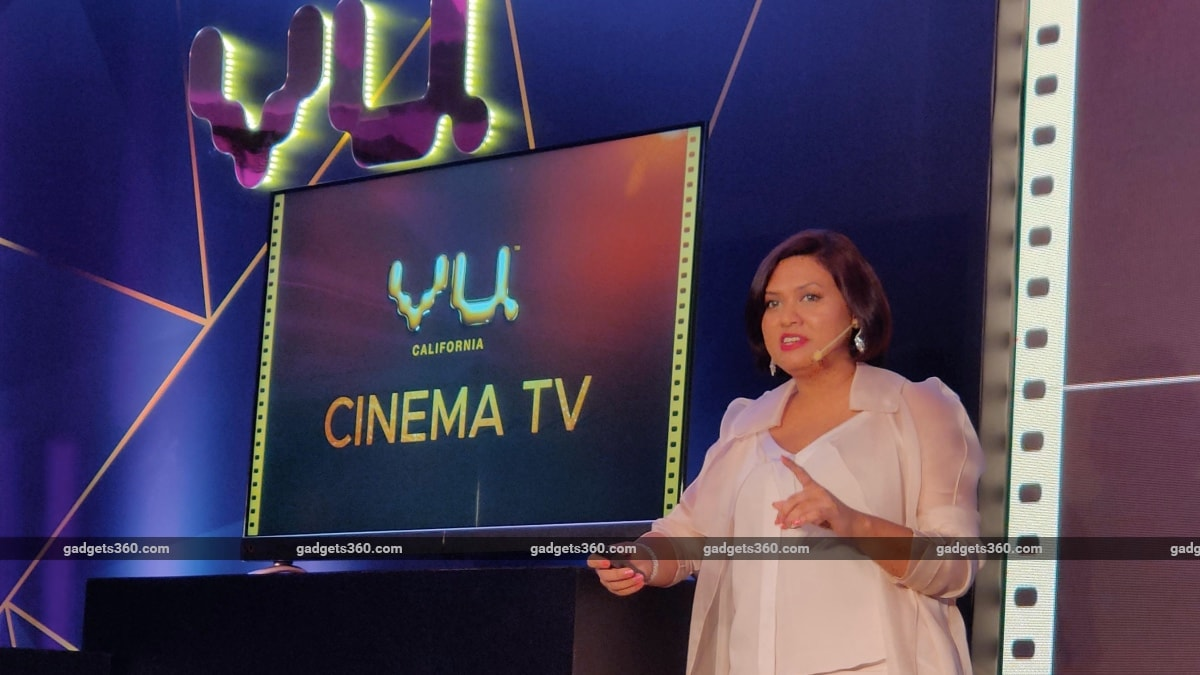 Vu Cinema TV Range Launched in India, Featuring 4K and Dolby Vision Starting at Rs. 26,999