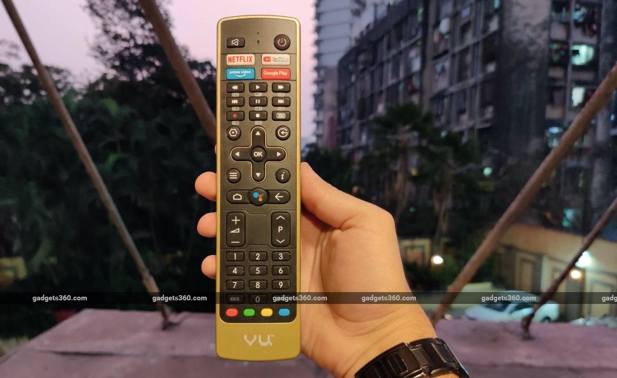 vu cinema tv review remote Vu Cinema TV