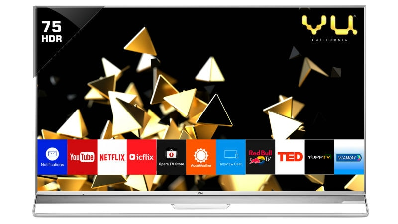 Vu Quantum Pixelight 4K Smart LED TV Series Launched in India