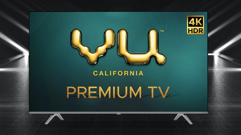 Vu Premium 4K TV Range Launched in India, Priced at Rs. 24,999 Onwards