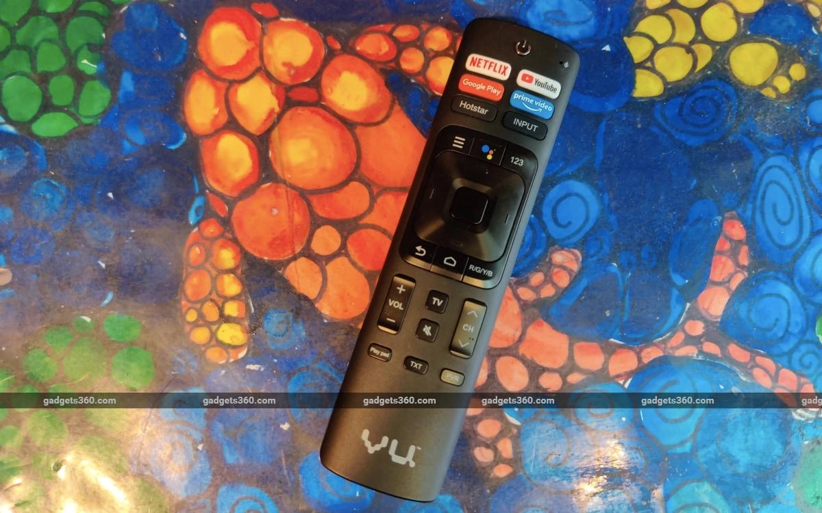 vu premium 4k tv review remote Vu Premium 4K TV Vu