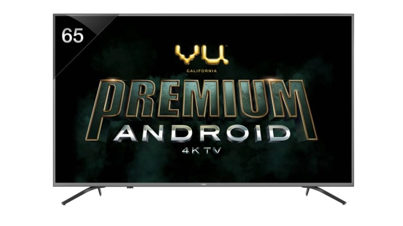 Vu Premium Android 4K TV Range Launched in India, Prices Start From Rs. 30,999