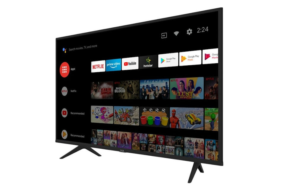 Vu Premium TV 32-Inch, 43-Inch Models With Dolby Audio, Android TV Debut in India: All Details