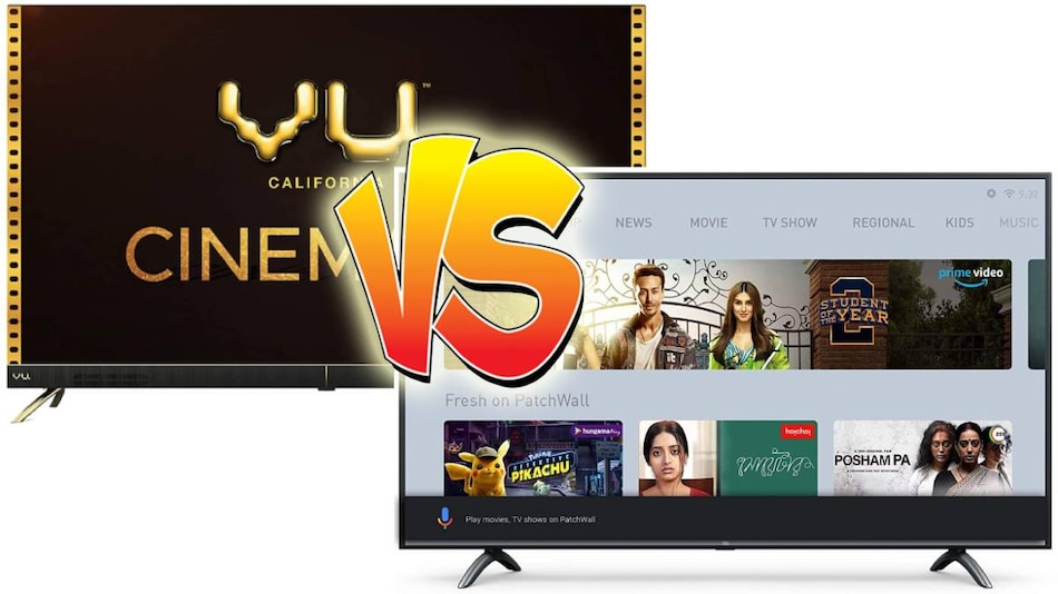 Xiaomi Mi TV 4X vs Vu Cinema TV: Which Is the Best Affordable Feature-Filled Smart TV?