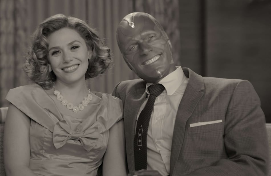 WandaVision Episode 1 Recap: A 1950s Dinner Party Marvel Style