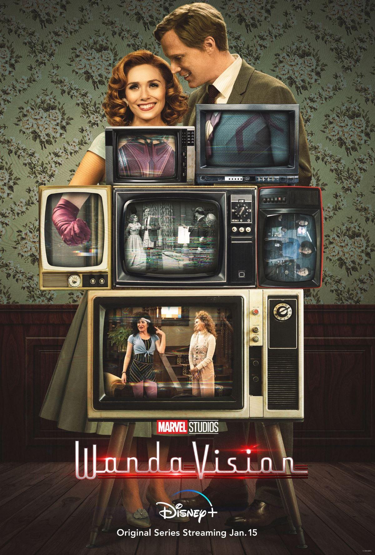 wandavision poster wandavision poster
