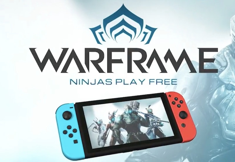 Free-to-Play Shooter Warframe Out Now on Nintendo Switch