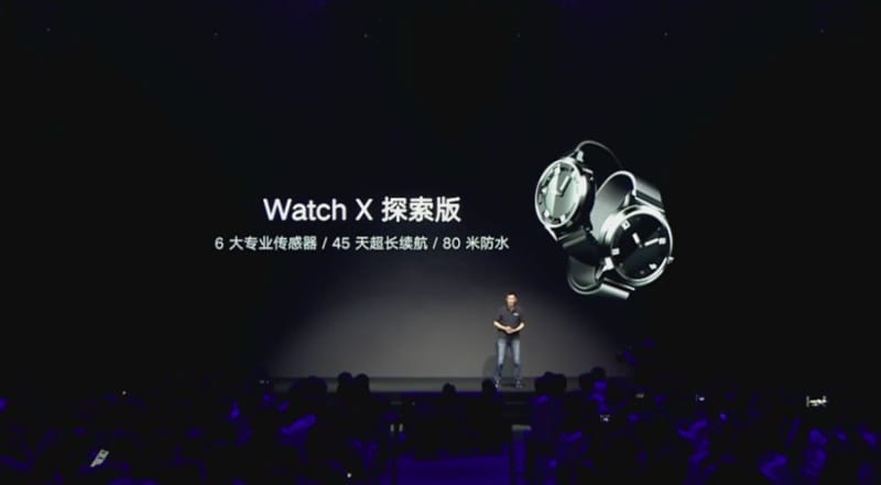 Lenovo Watch X With Air and Blood Pressure Sensors, 45 Days Standby Launched