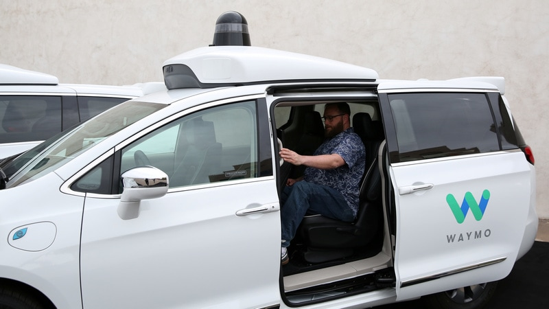Google-Spinoff Waymo Launches America's First Commercial