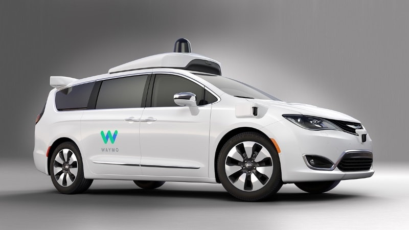 Google's Waymo Adds 100 Chrysler Pacifica Minivans to Self-Driving Fleet