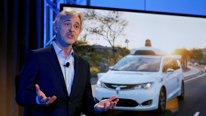 Waymo Needs 'Large Number' of Cars for European Robo-Taxis: CEO