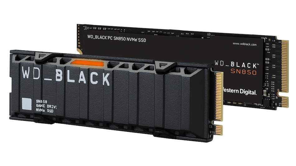 Western Digital's WD Black SN850, AN1500 SSDs Launched in India, Call of Duty-Themed Models Coming Next Month