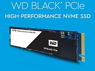 WD Black PCIe SSD With Up to 2GB/s Read Speeds Launched at CES 2017