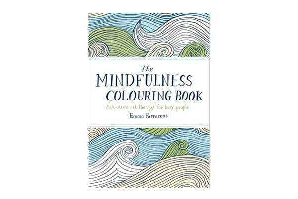 weekend essentials Mindfulness Colouring Book Anti stress therapy