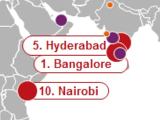 Bengaluru Tops Most Dynamic Cities List, Silicon Valley Takes Third Spot