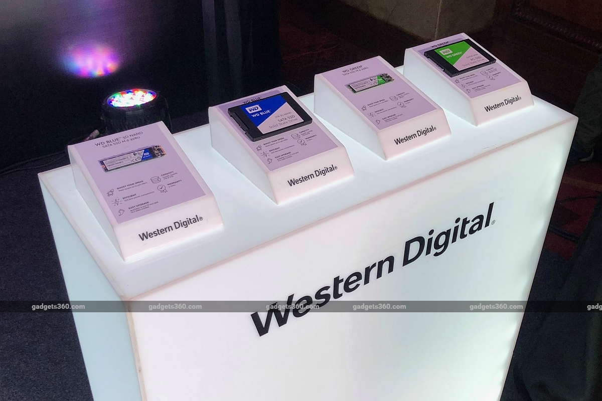 western digital ssd portfolio india gagdets 360 Western Digital