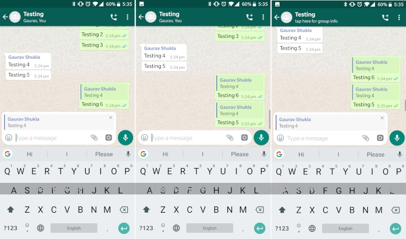 whatsapp bug android WhatsApp for Android bug