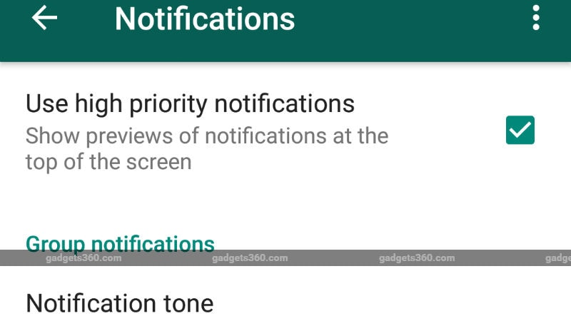 WhatsApp gets 'Dismiss as Admin' and 'High Priority' features