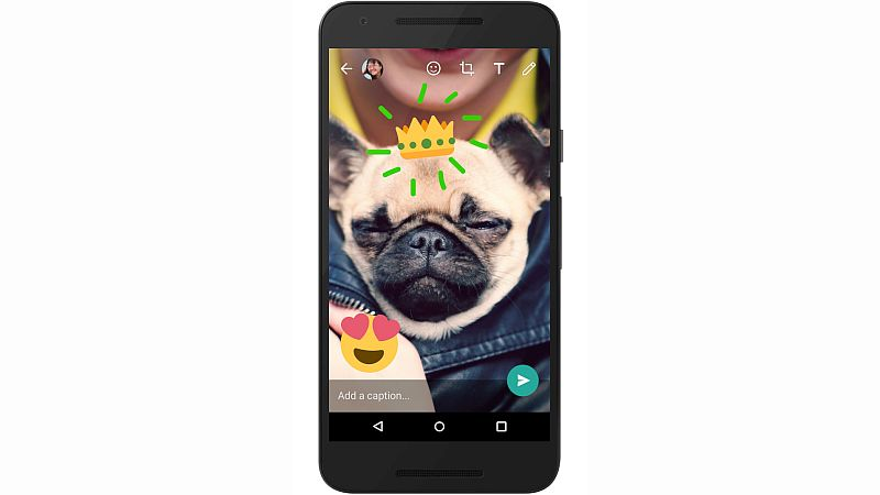 WhatsApp's New Camera Features Let You Write and Draw on Images and Videos, Apart From Adding Emojis and Text
