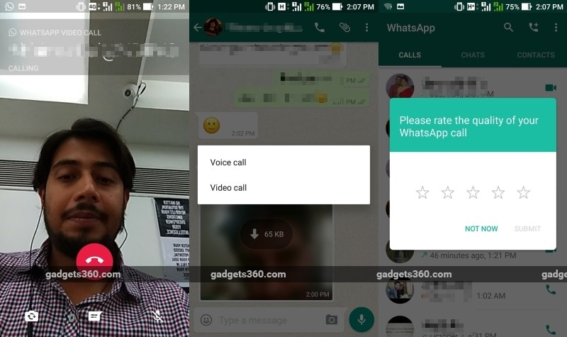 WhatsApp Video Calling Is Here, Optimised for India's Connectivity Issues