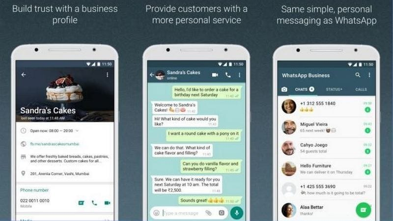 whatsapp business app fur iphone