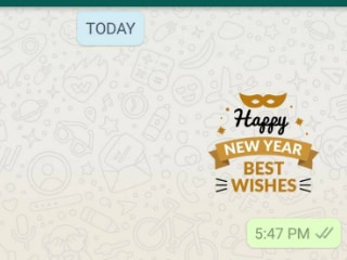 WhatsApp New Year Stickers: How to Find, Create, and Share New Year 2019 Stickers on WhatsApp