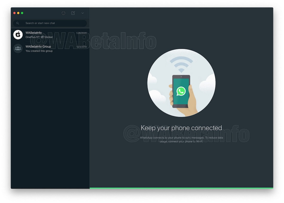 WhatsApp Dark Mode Leaked for Desktop, Said to Be in Development for Web as Well