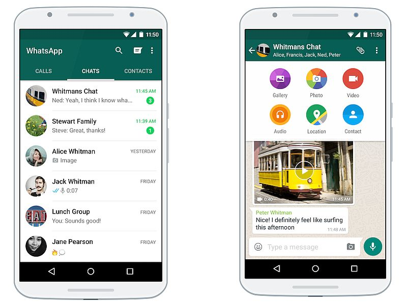 WhatsApp Android App Gets GIF Search, Media Sharing Limit Increased to 30 Files