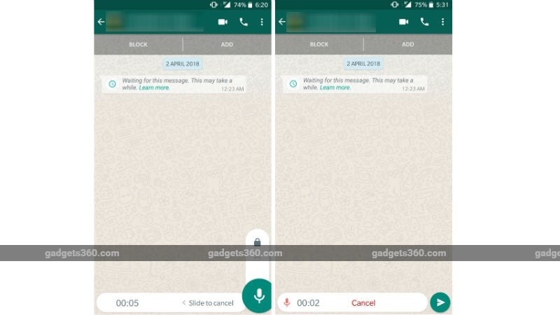 whatsapp android lock voice recording 052518 182547 0516 WhatsApp for Android Locked Voice Recording