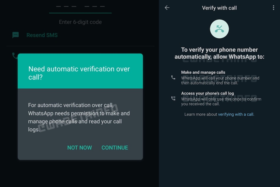 WhatsApp Working on Flash Calls Feature for Quick Log In: Report