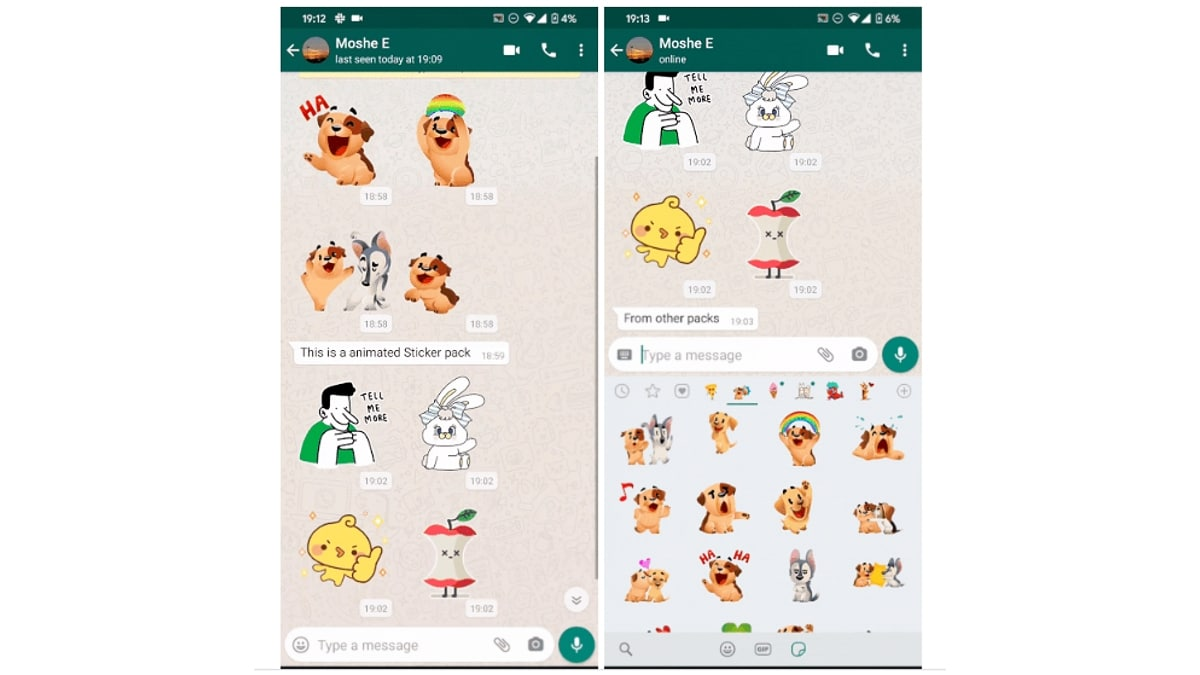 WhatsApp Messenger Starts Testing Animated Stickers on Android, iPhone