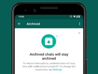 WhatsApp Users Can Now Keep Archived Chat Threads Tucked Away Forever, Even if They Get a New Message