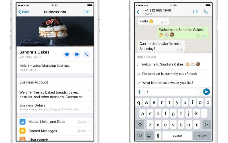 WhatsApp Business Now Allows Users to Sync Details From Facebook Pages