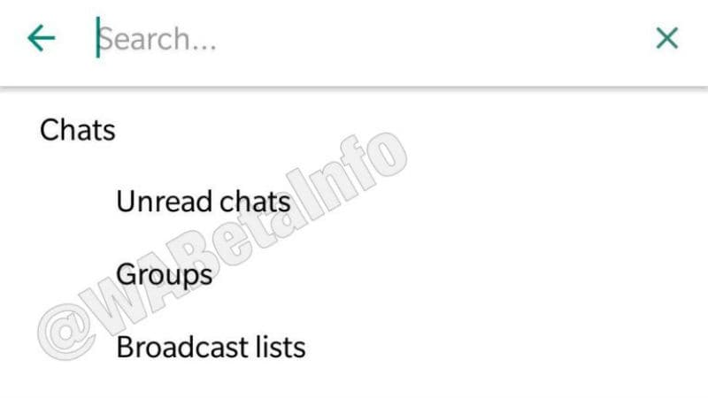 whatsapp chat filter wabetainfo WhatsApp  WhatsApp Features  WhatsApp Group  WhatsApp App  WhatsApp Chat
