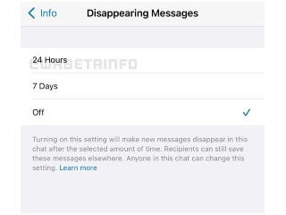 WhatsApp Testing 24 Hours Option for Disappearing Messages on Android, iOS, Web: Report