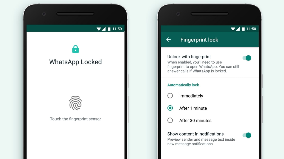WhatsApp Gets Fingerprint Lock Feature on Android, Months After iPhone
